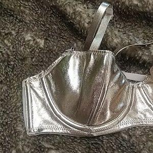 Victoria's Secret Rose Gold Metallic Bra